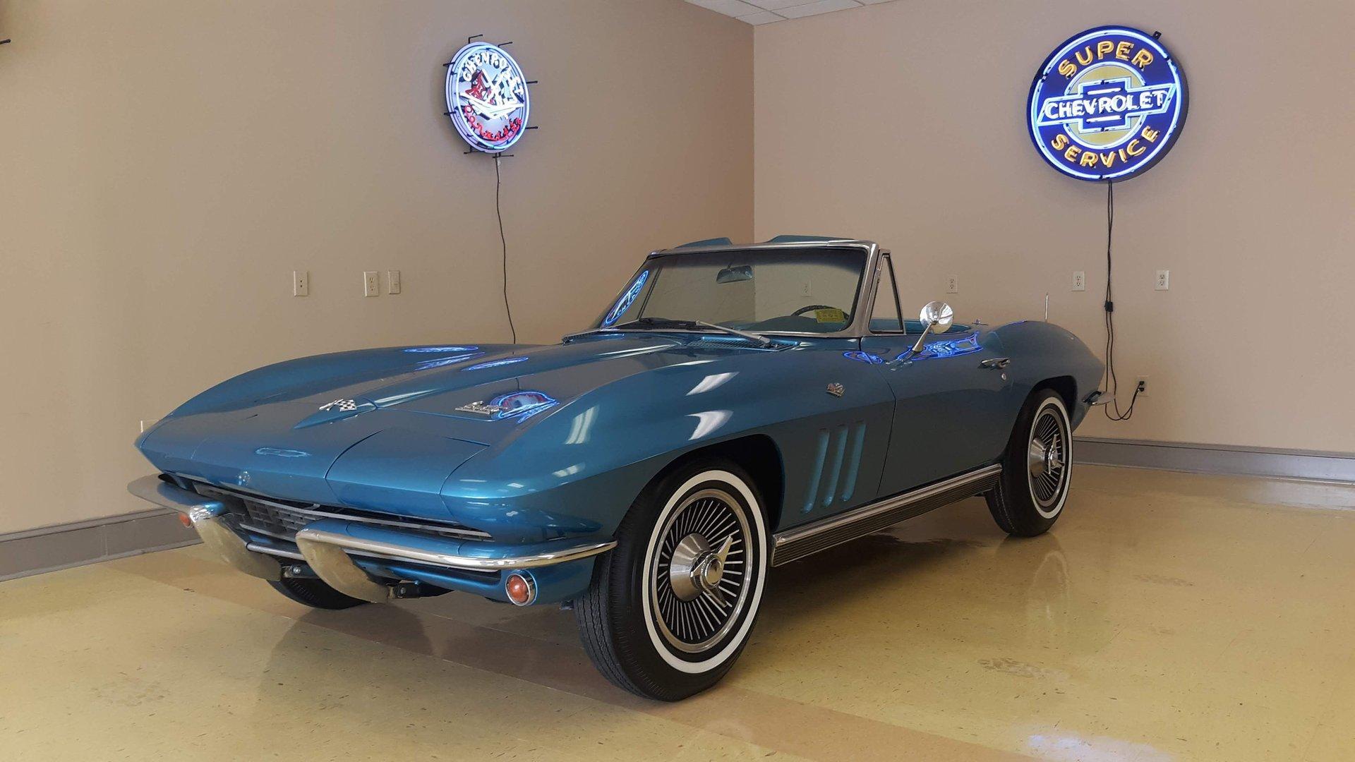 1966 chevrolet corvette l79