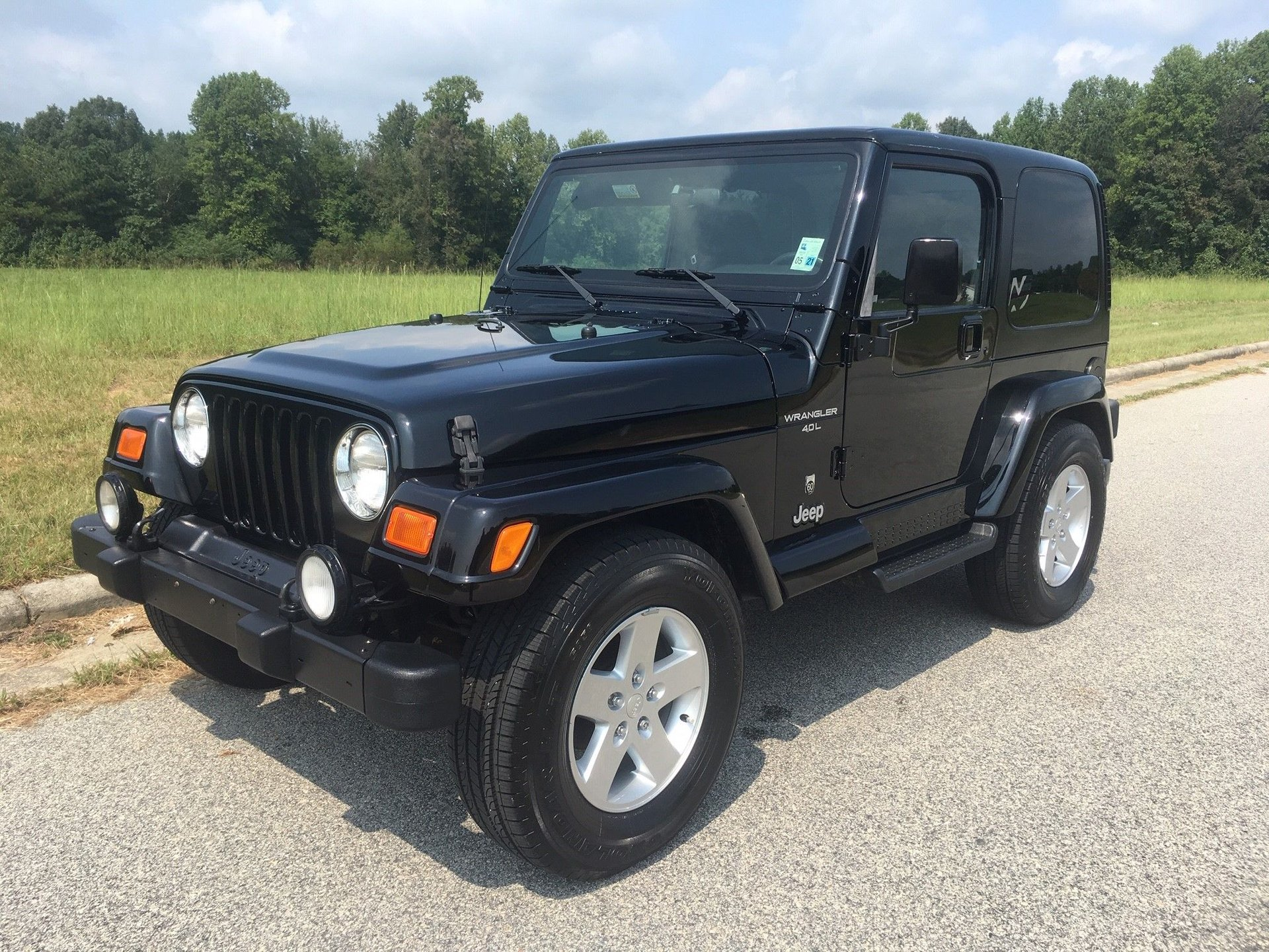 2001 jeep wrangler 60th anniversary