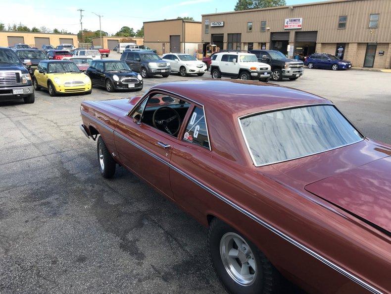 1966 ford fairlane gasser