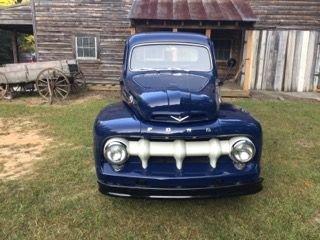 1952 ford 5 star cab