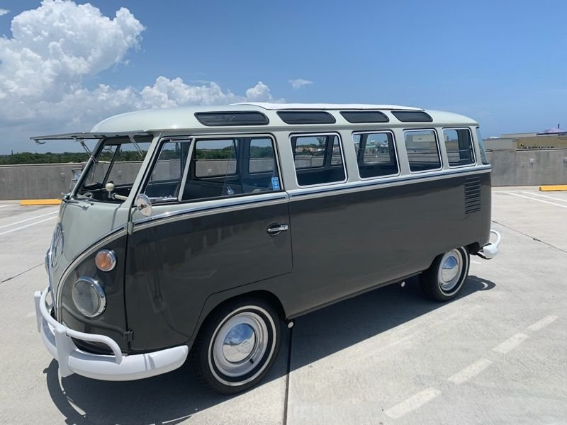 1961 volkswagen type 2 23 window bus