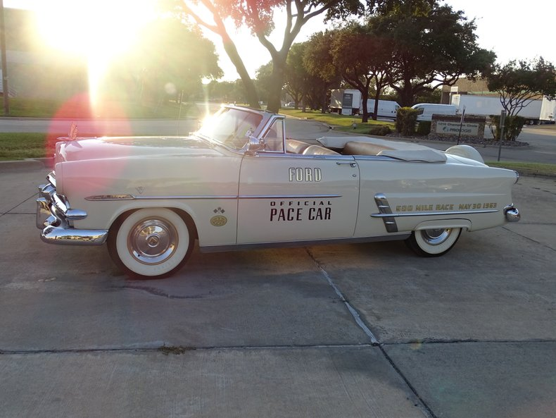 1953 ford crestline sunliner indianapolis 500 pace car