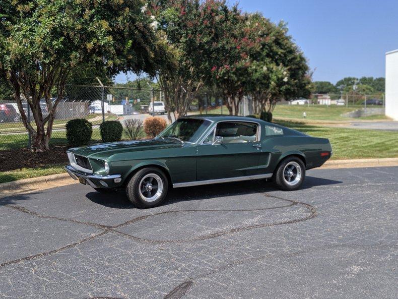 1968 ford mustang bullitt clone