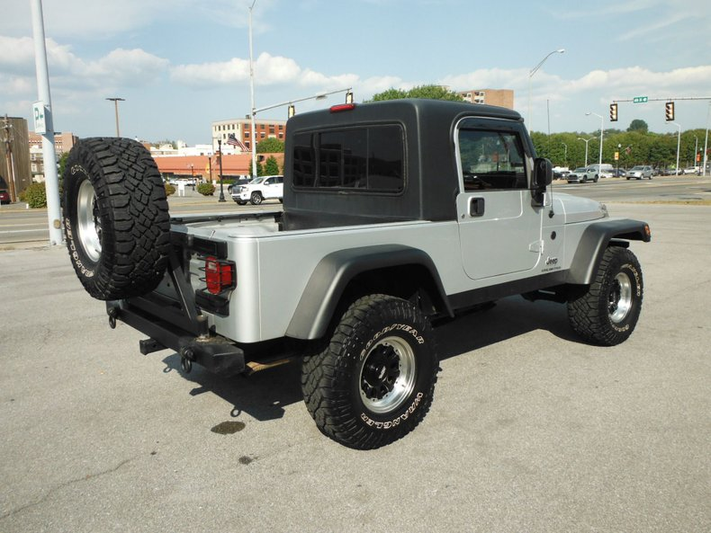 2006 jeep wrangler scrambler conversion