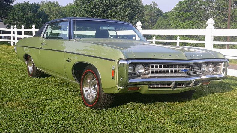 1969 Chevrolet Impala For Sale