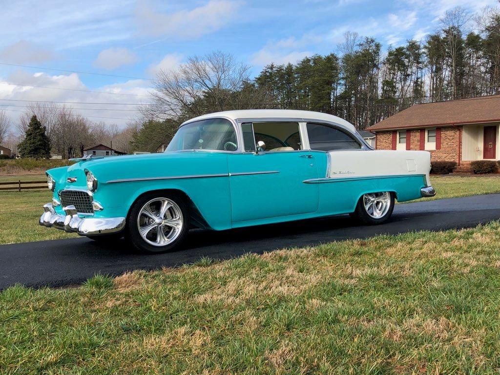 1955 chevrolet bel air pro tour resto mod