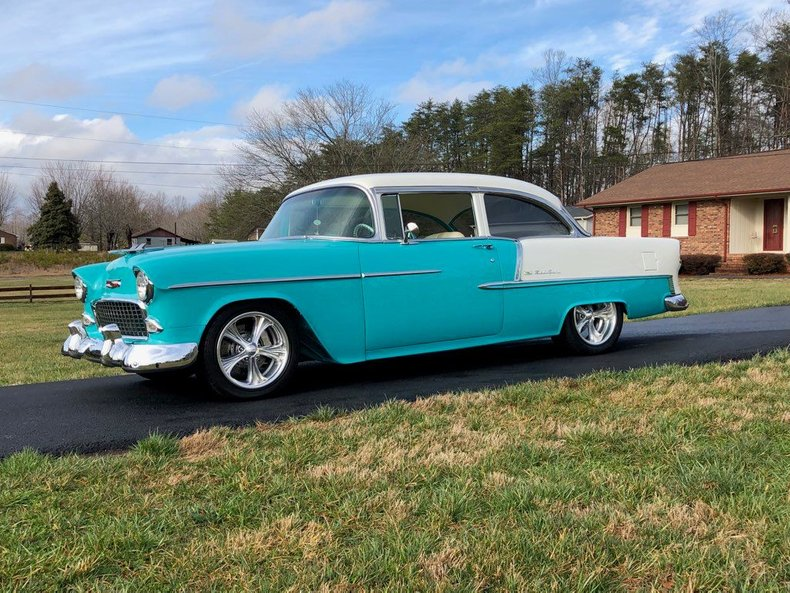 1955 chevrolet bel air pro tour resto mod