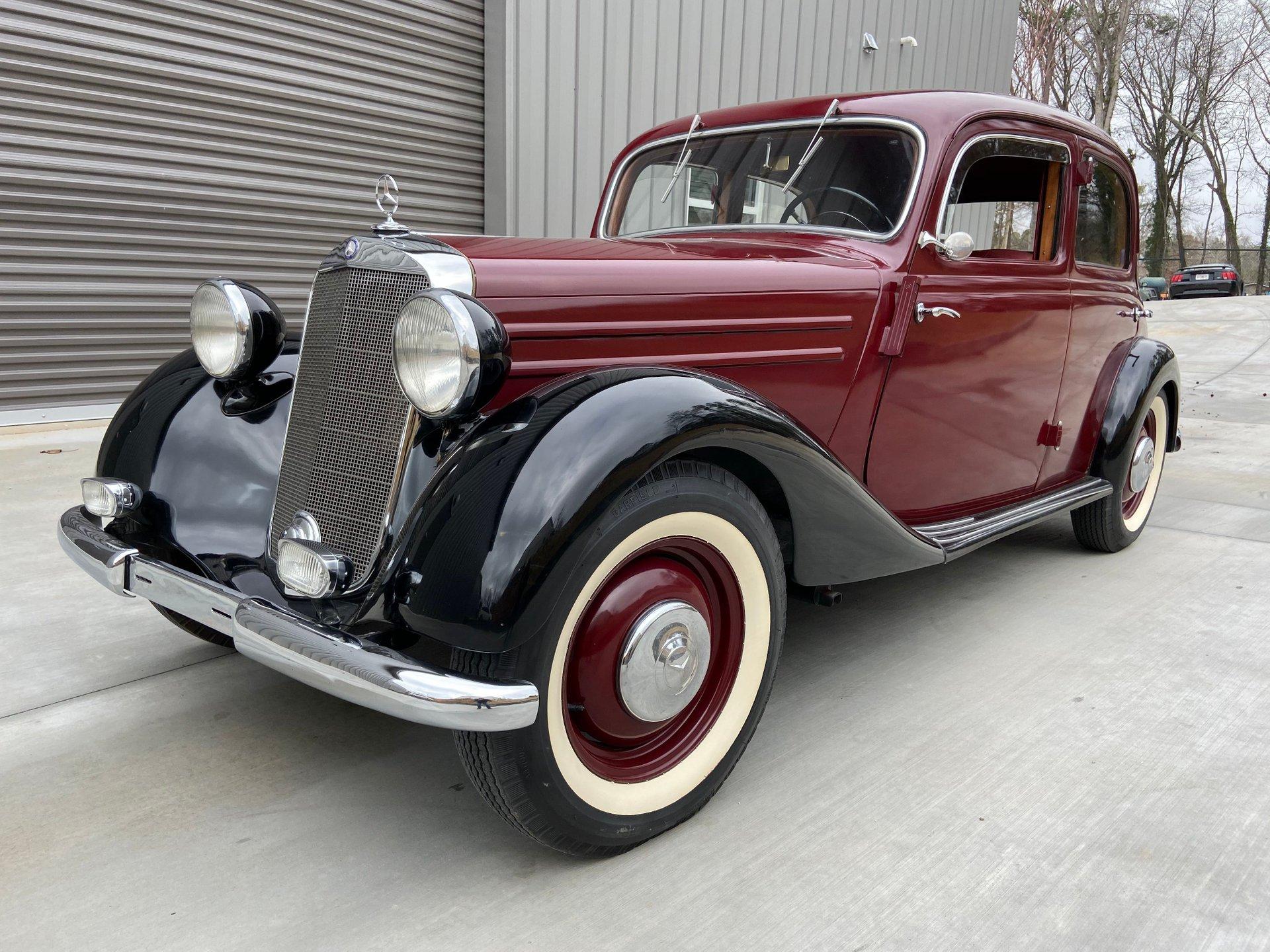 1952 mercedes benz 170va