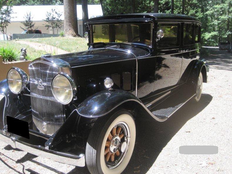 1931 graham 820 sedan