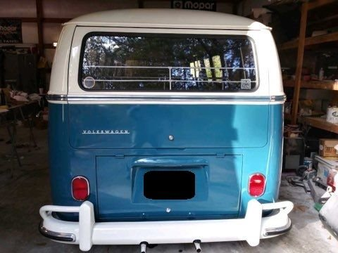 1965 volkswagen 21 window bus