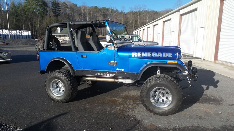 1986 american jeep renegade