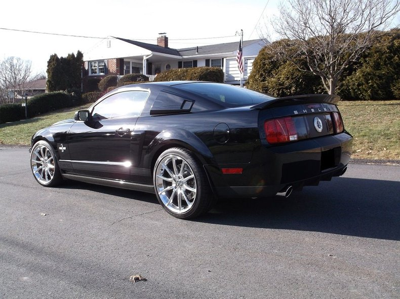 2007 ford shelby gt500 super snake