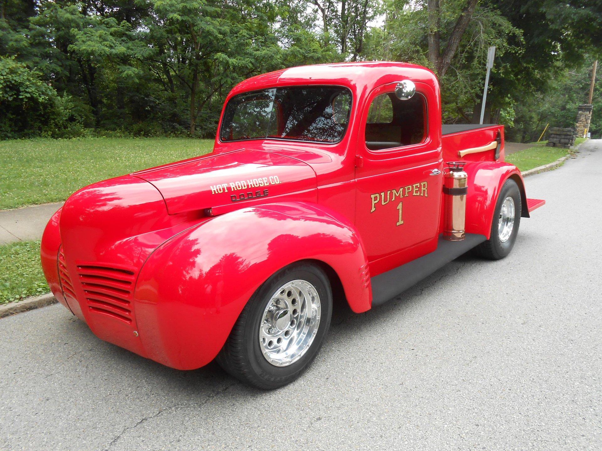 1940 Dodge Custom Fire Truck Gaa Classic Cars
