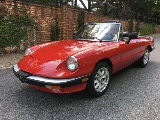 1986 Alfa Romeo Veloco Graduate