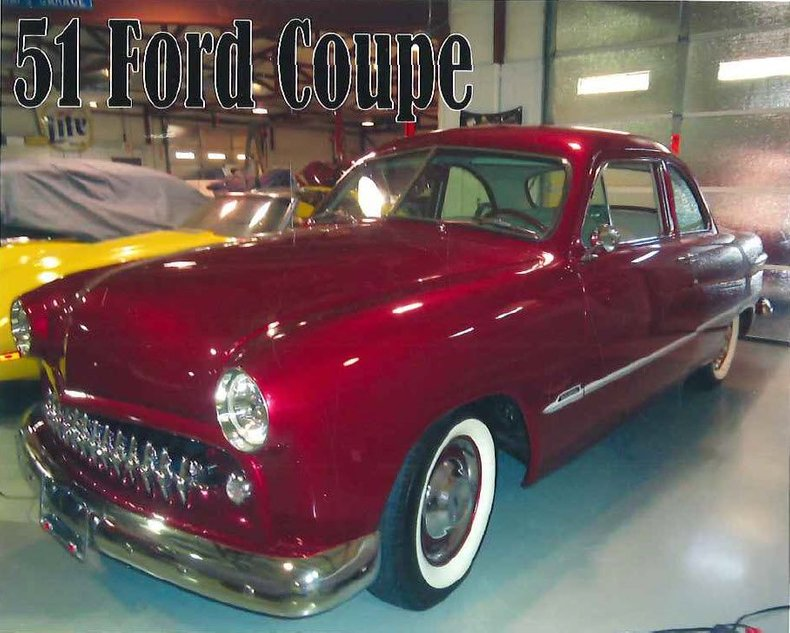 1951 Ford Custom For Sale