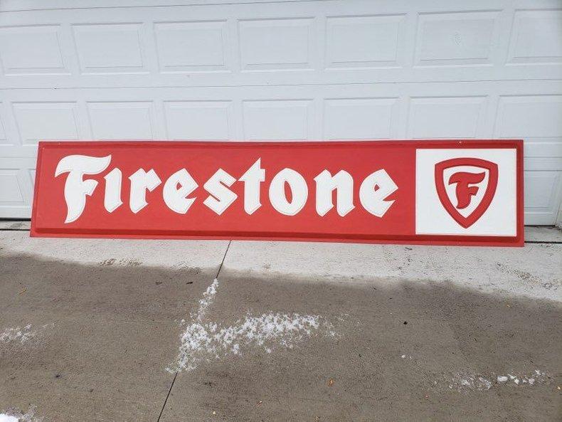 Firestone Dealer Fiberglass Sign