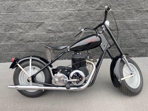 1961 mustang motorcycle