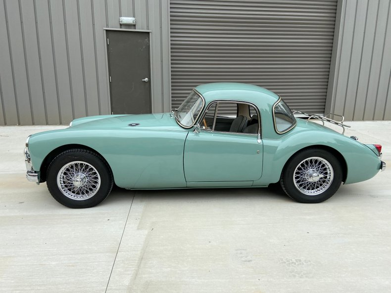 1957 mg mga coupe