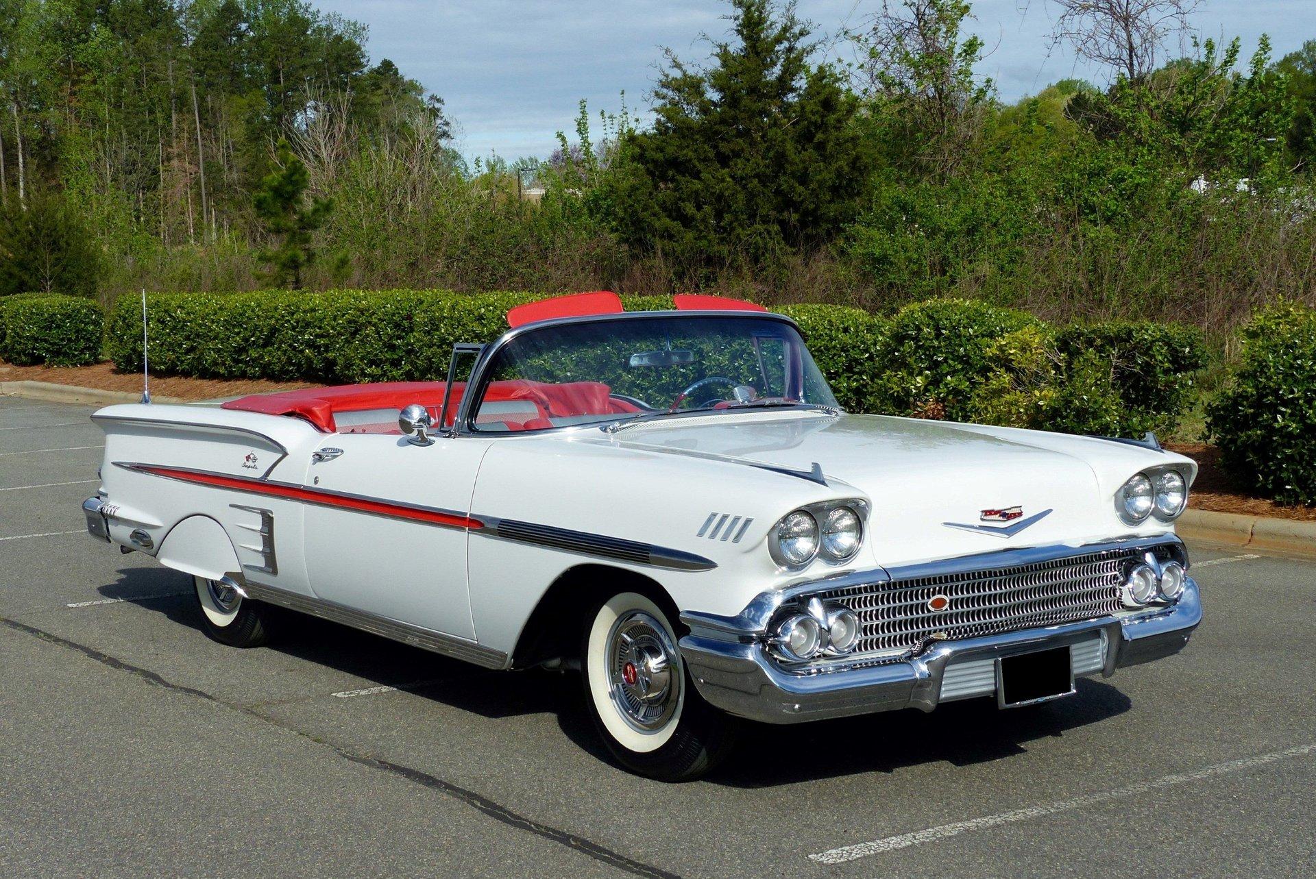 1958 chevrolet impala bel air