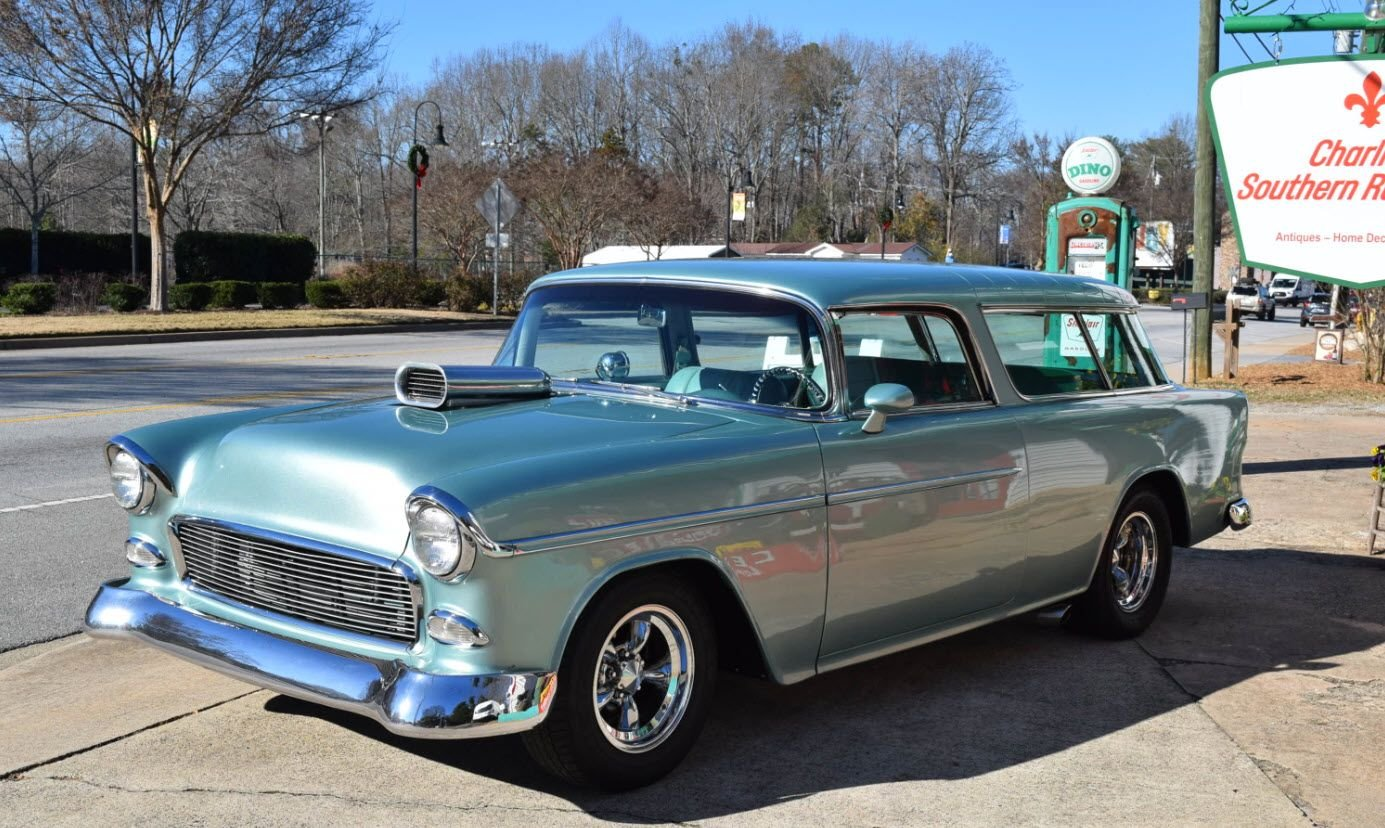 1955 chevrolet bel air nomad