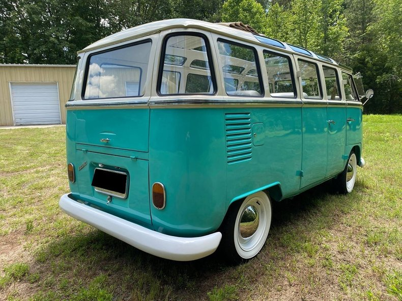1974 volkswagen samba 23 window bus