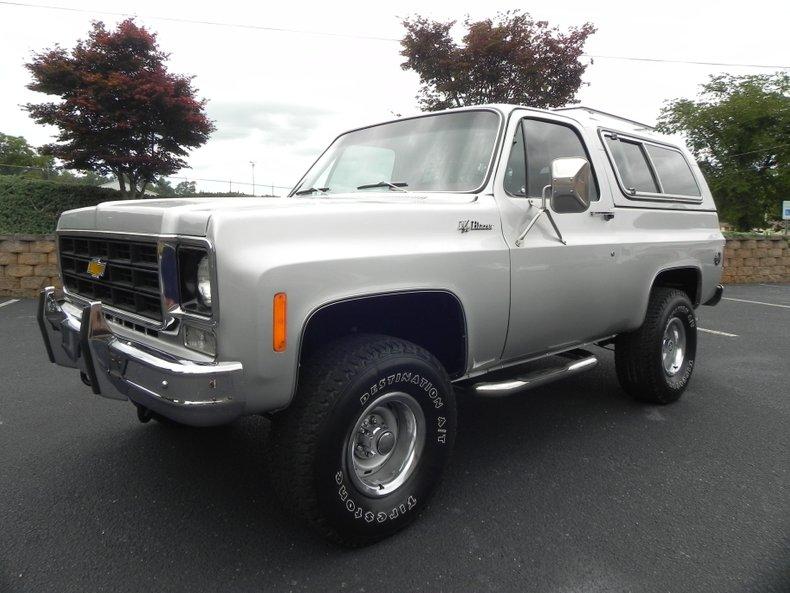1978 Chevrolet K10 Blazer
