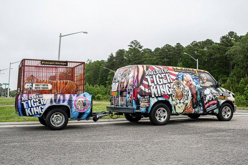 2005 chevrolet astro tiger king van trailer