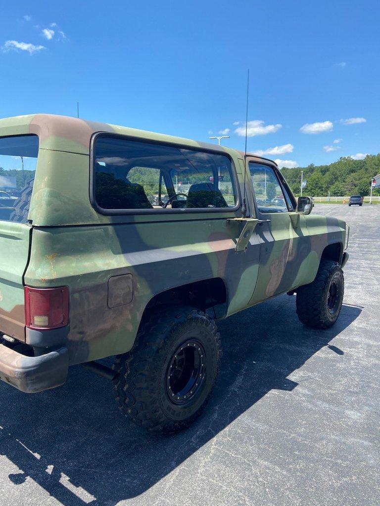 1986 Chevrolet D10