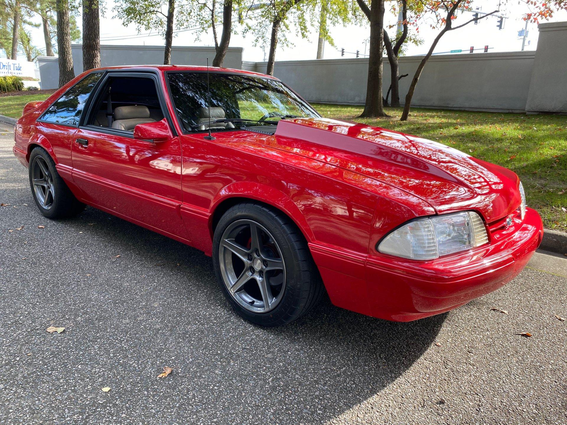 1993 ford mustang fox body