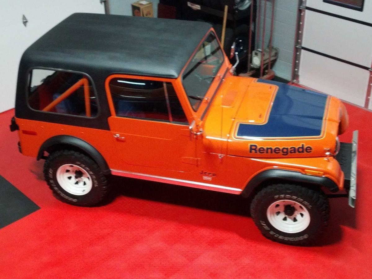1978 jeep cj 7 renegade
