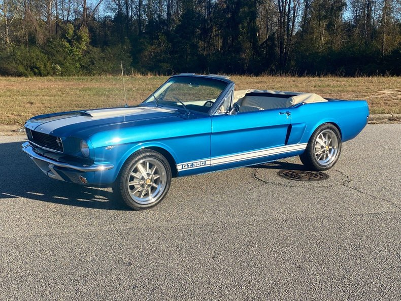 1966 ford mustang gt350 shelby tribute
