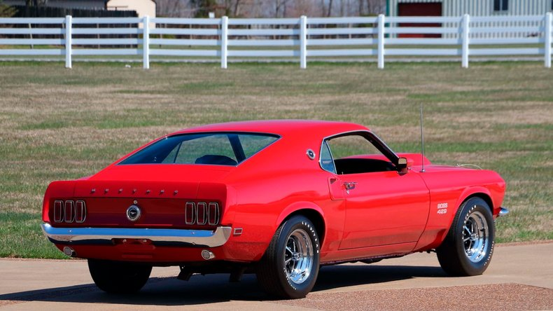 1969 Ford Mustang 4