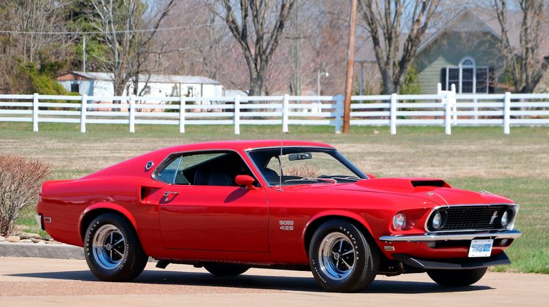 1969 Ford Mustang 8
