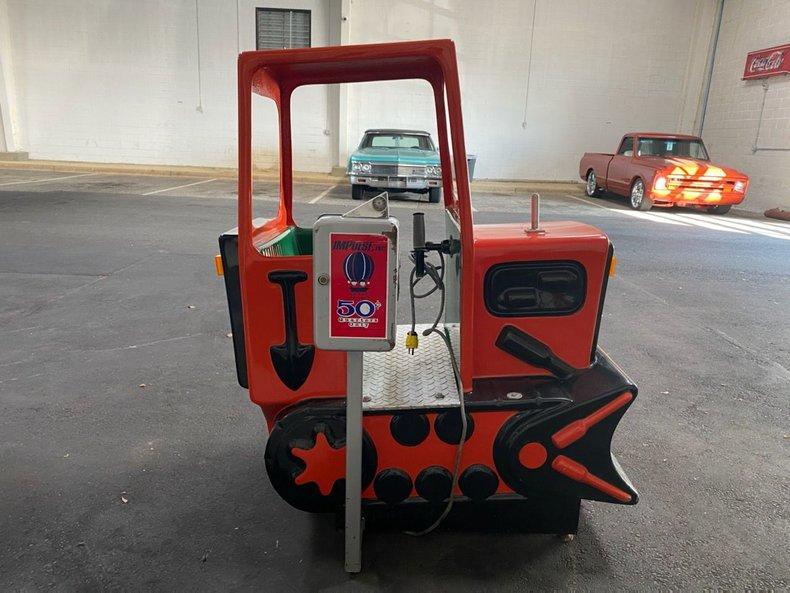 Bulldozer Kiddie Ride