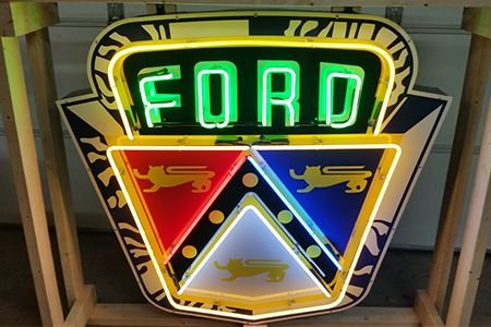 Ford Neon Sign - Charity Item