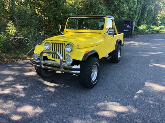 1981 amc jeep scrambler