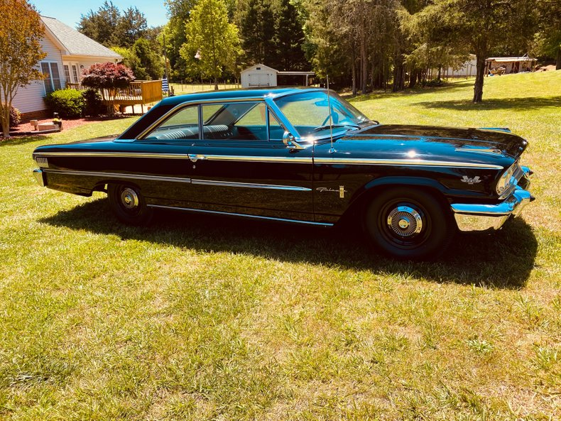 1963 ford galaxie r code