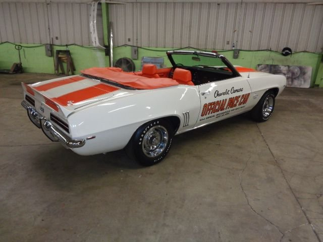 1969 chevrolet camaro z11 rs ss pace car