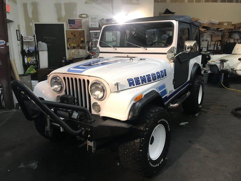 1983 jeep wrangler cj 7 renegade edition