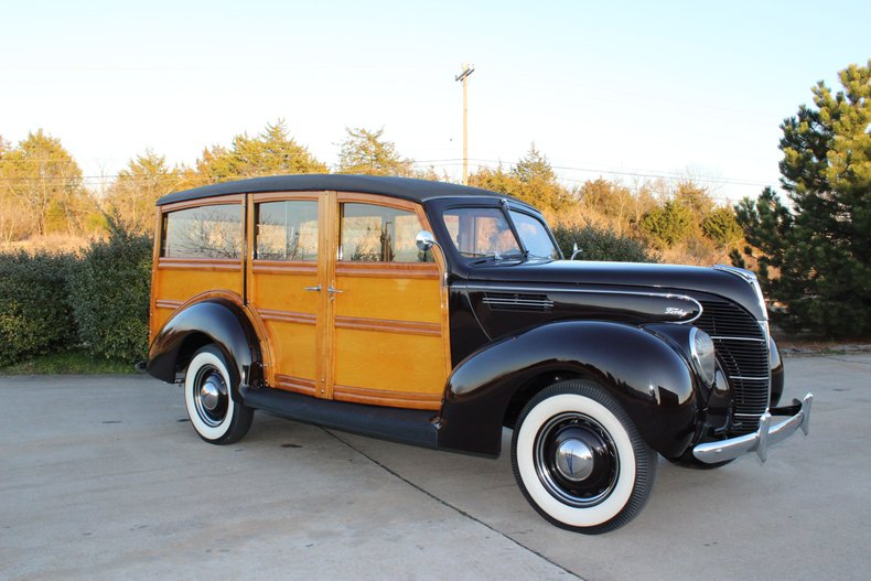 1939 ford woody station wagon