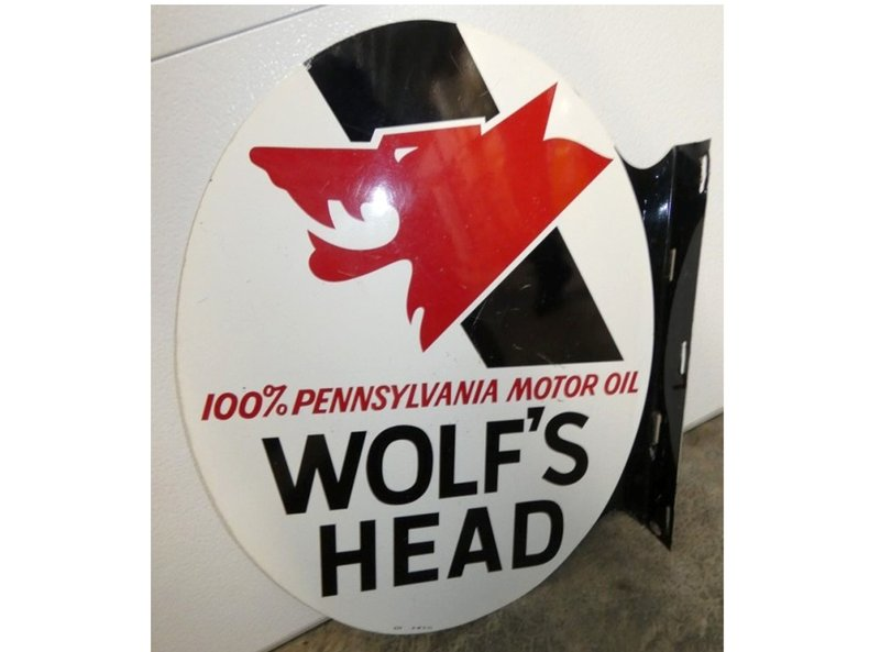 Wolf's Head Flange Sign