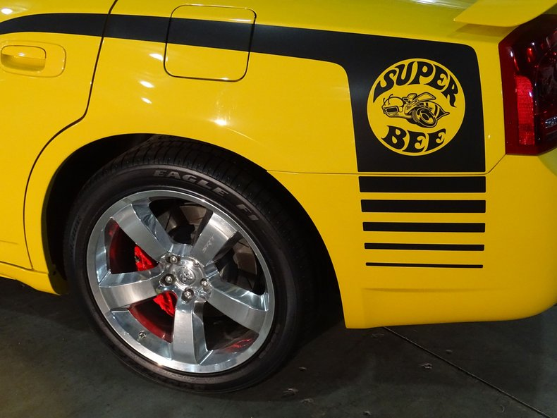 2007 dodge charger srt8 super bee special edition