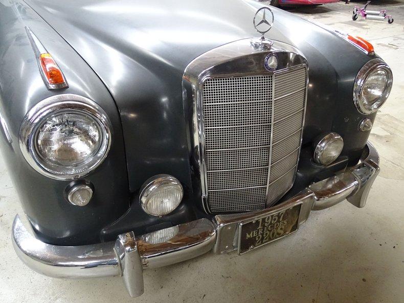 1957 mercedes benz 220s