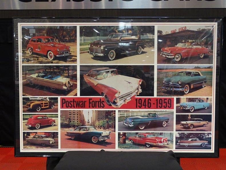 Postwar Fords Poster