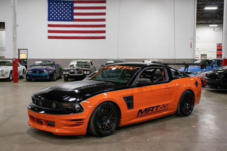 2012 ford mustang track ready