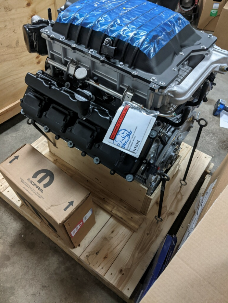 2020 426 supercharged crate hemi
