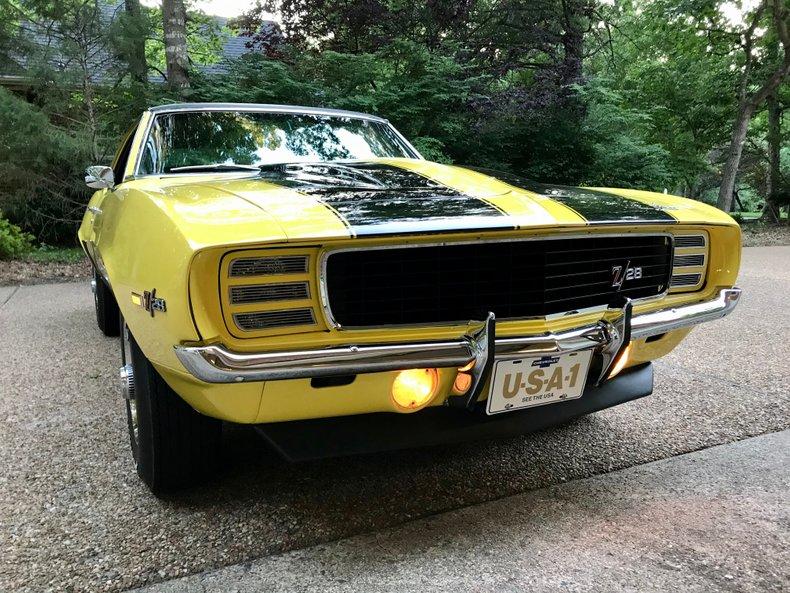 1969 chevrolet camaro z28 clone