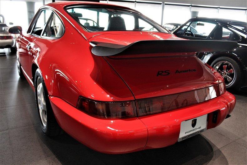 1993 Porsche 911 RS America