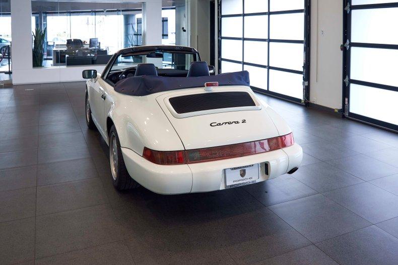 1991 Porsche 911 Carrera C2 Cab