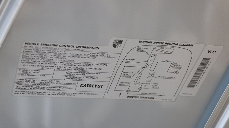 1992 Porsche 968 Cabriolet